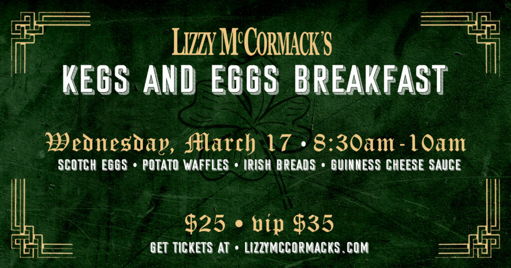 Lizzys Kegs and Eggs Breakfast 2021 St Patricks Day Orlando