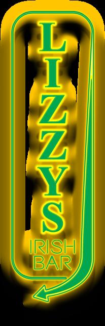 Lizzy McCormacks Logo Neon Sign